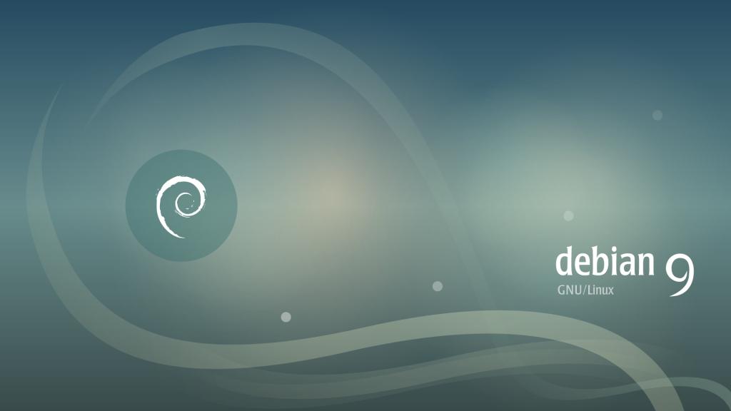 Visuel Debian 9