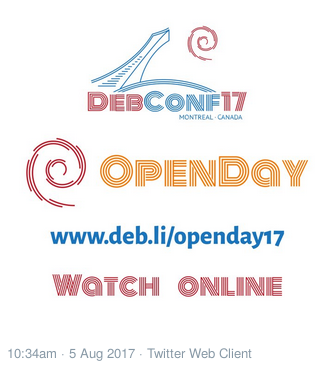 OpenDay-DebConf17