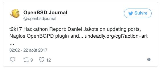 Tweet-Hackathon-OpenBSD-2017